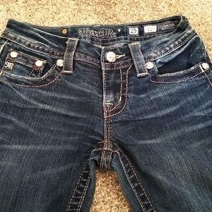 Miss Me Jeans Size 25x30 Signature Boot Cut